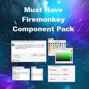 Delphi XE7 Firemonkey TMS Component Pack Web Browser
