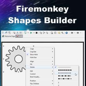 Delphi XE7 Firemonkey 35 Shapes Android IOS