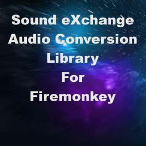 Delphi XE7 Firemonkey libSOX Sound Exchange Audio Converter Library For Android IOS OSX Windows