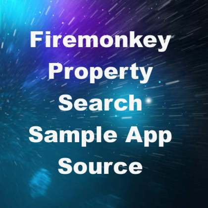 Delphi XE7 Firemonkey Nestoria API Property Search Sample App Source Code