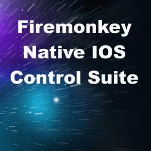 Delphi XE8 Firemonkey Native Controls For IOS