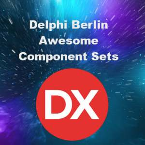 Delphi Berlin Firemonkey Component Sets Android IOS