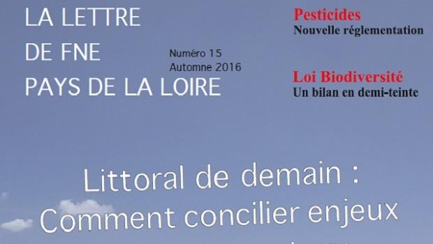 Publication : FNE Pays de la Loire vient de publier La Lettre de FNE Pays de la Loire n°15. Son dossier traite du sujet suivant : Littoral de demain, comment […]