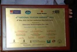 6th National Telecom Awards 2012 Announced