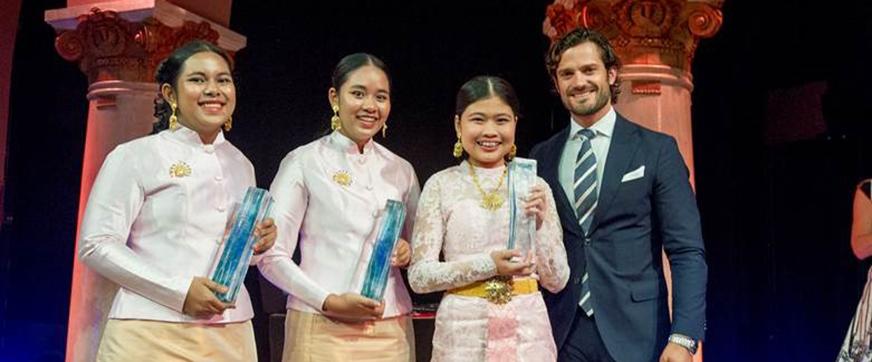 Thai students win 2016 Stockholm Junior Water Prize for natural innovative water retention device
