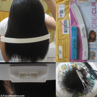 Cutting My Own Hair: CreaClip vs the Rubber Band Method