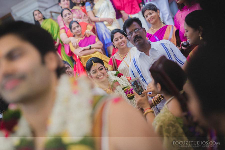 brahmin celebrity wedding Ganesh Venkatraman and Nisha Krishnan
