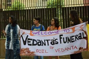 Activists at RBI in Delhi