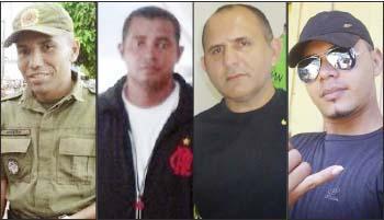 Sgt_-Albertino-Soares-Cb_-Pedro-Davila-Cb_-Wilton-Pessoa-Sd_-Mackson-Melo-quatro-acusados
