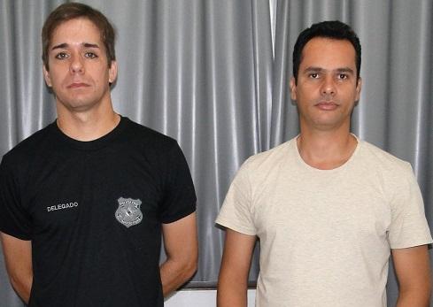 César Macedo Faustino e Daniel Mattos Mathias Pereira são os novos delegados da Delegacia de Policia Civil de  Novo Progresso - (Foto- Juliano Simionato)