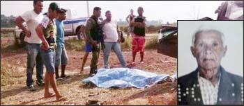 José Pedro Ribeiro (detalhe) também morreu no trágico acidente na Transamazônica