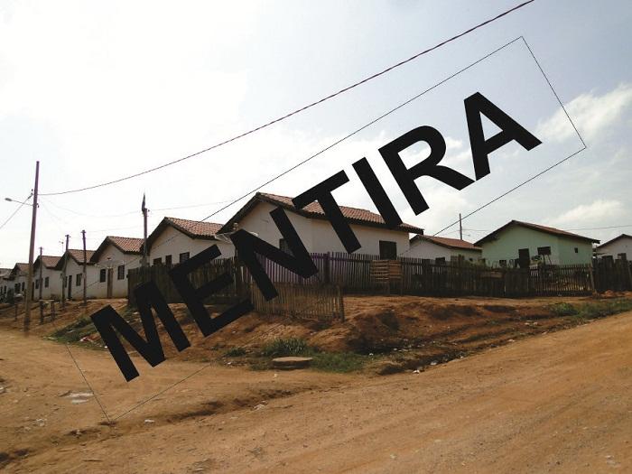 Casas populares são as mesmas deixado pelos outros governantes. Falta cuidado- bairros estão abandonados pelo poder público