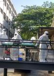 Paciente,  cuja suspeita de Ebola foi descartada, chega ao Instituto Evandro Chagas no Rio de Janeiro