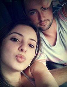 Leandro e Joseana, (foto enviada pelo WatsApss, pouco antes de serem assassinados)