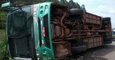 Ônibus passou por uma revisão e precisou ser substituído. (Foto: Bariloche Silva/Arquivo pessoal)