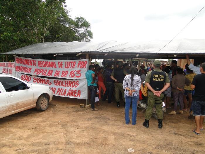 Policia Militar acompanhou oficial