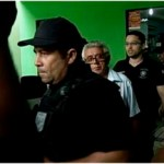 Odilon Rocha é conduzido à Delegacia por policiais federais