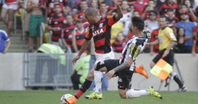 Emerson Sheik marcou o segundo gol do Flamengo na partida Foto: Divulgação / CRF