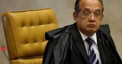 O ministro do TSE Gilmar Mendes, do Supremo Tribunal Federal