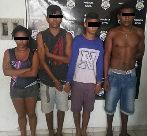 Menores presos acusados de matar o Taxista Raimundo de Almeida Ferreira
