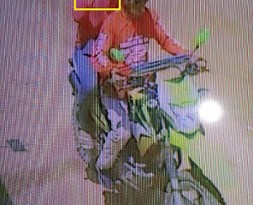 Camara de segurança flagrou o assassino na garupa da motocicleta