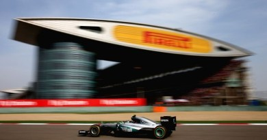 SHANGHAI, CHINA - APRIL 17: Nico Rosberg of Germany driving the (6) Mercedes AMG Petronas F1 Team Mercedes F1 WO7 Mercedes PU106C Hybrid turbo on track during the Formula One Grand Prix of China at Shanghai International Circuit on April 17, 2016 in Shanghai, China.  (Photo by Clive Mason/Getty Images)