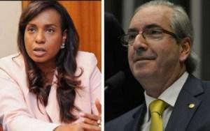 Tia Eron disse que Cunha 'fez o Parlamento produzir como nunca'