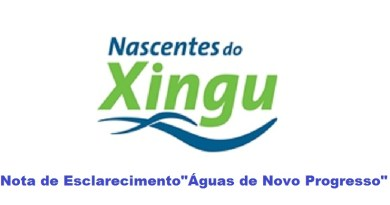 nascente do xingu