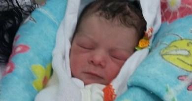 Criança encontrada em sacola foi batizada como Bruno Davi pela equipe do HMNP.