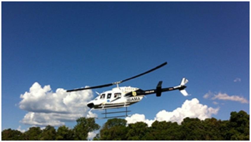 VÍDEO - Ibama usa helicóptero para fazer farra em Novo Progresso