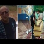 """Corpo do piloto """"Tatu""""  é sepultado em  Santarém"""