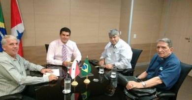 Gelson Dill, Elder Barbalho e Neri Prazeres.(Foto Facebook)