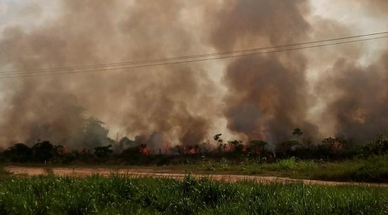 Estiagem e queimadas agravam tempo seco e deixam município em estado de atenção