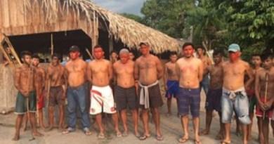 Além de Heriberto Figueiredo, outros cinco operários são mantidos reféns na aldeia (Foto: João Paulo Pessoa)