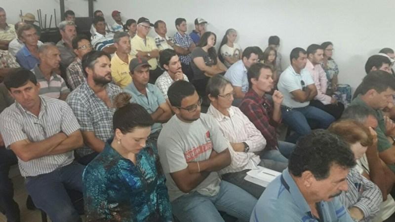 Participantes da reunião.
