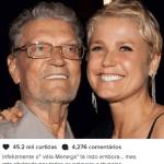 Morre o pai da apresentadora Xuxa Meneghel