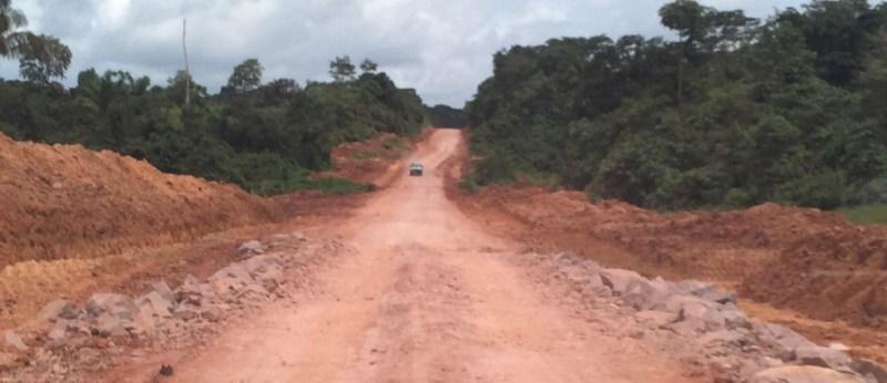 Rodovia BR-163 (foto WhatsApp-Jornal Folha o Progresso)