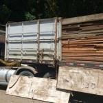 Operação prende quatro carretas com madeira irregular em Novo Progresso