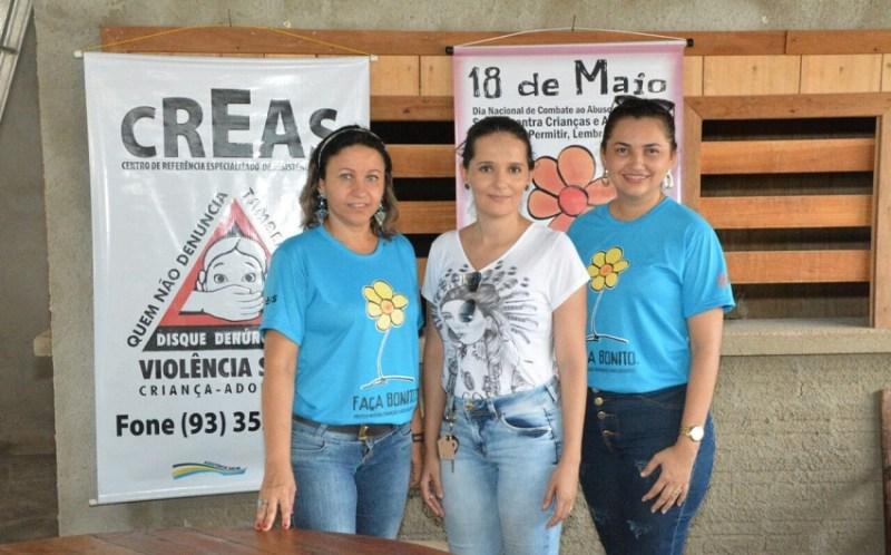 Secretaria de Ação Social atendendo na comunidade