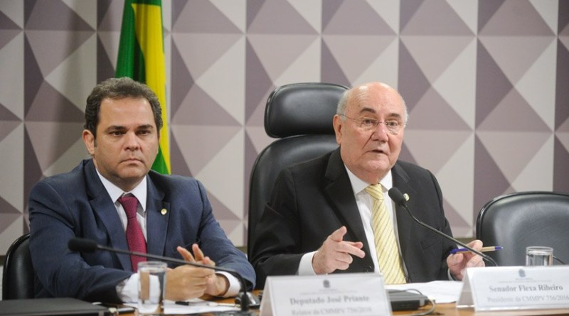 Relator deputado Priante(PMDB) e Presidente Senador Flexa Ribeiro (PSDB)