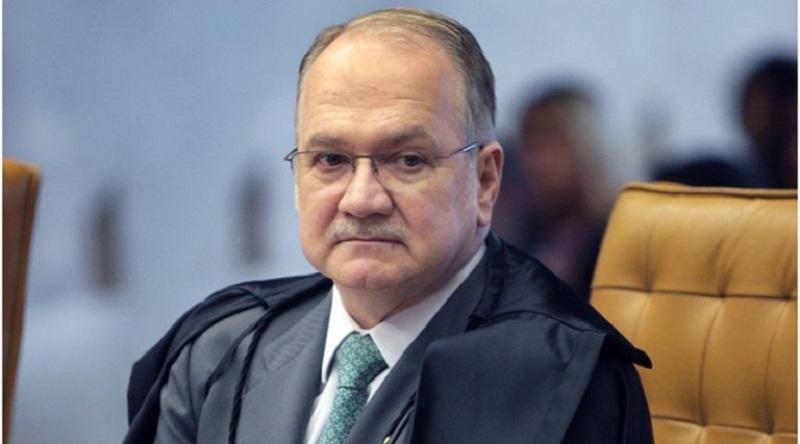 Ministro Edson Fachin, relator do inquérito, durante sessão da Segunda Turma do STF que decidiu sobre o caso de Geddel  (Valter Campanato/Agência Brasil)