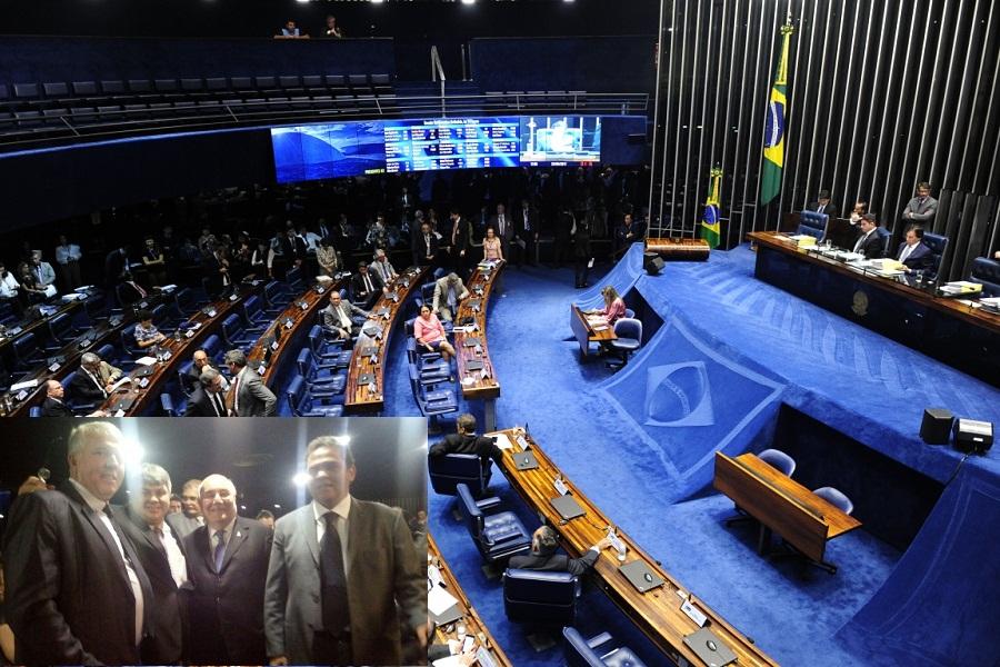 Progressenses comemoram aprovação de MP no Senado
