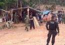 Força policial retira invasores de garimpo ilegal em Mato Grosso; 17 presos