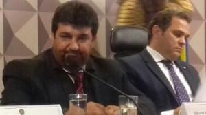 Presidente da Camara de Novo PRogresso Nego do Bento ao lado do Relator da MP 756 José Priante(PMDB)