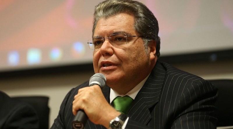 Brasília - Ministro do Meio Ambiente, Sarney Filho, abre reunião do Comitê Interfederativo criado para monitorar e controlar as ações compensatórias na região atingida pela barragem em Mariana (Elza Fiuza/Agência Brasil)