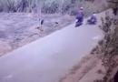 Vítima de assalto é derrubada de moto em Altamira