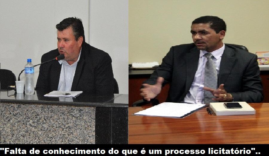 Impasse- Advogado da Prefeitura  acusa vereador de falta de experiência