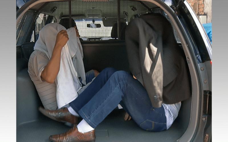 Médico foi levado para fazer exame de corpo de delito antes de ser encaminhado à Central de Triagem da penitenciária (Foto: Reprodução/TV Tapajós)