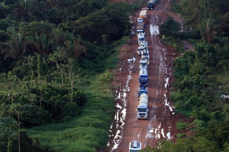 Exército assume obras em trecho da rodovia BR-163