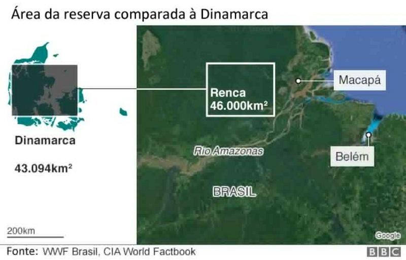 mapa Foto: BBCBrasil.com
